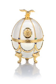 Carafe in Pearl Faberge Egg
