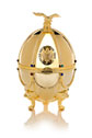 Carafe in Gold Faberge Egg