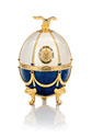 Carafe in Pearl and Sapphire Faberge Egg