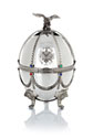 Carafe in Silver Faberge Egg